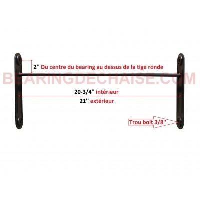 Balancier (20-3/4'' X 2'') NOIR