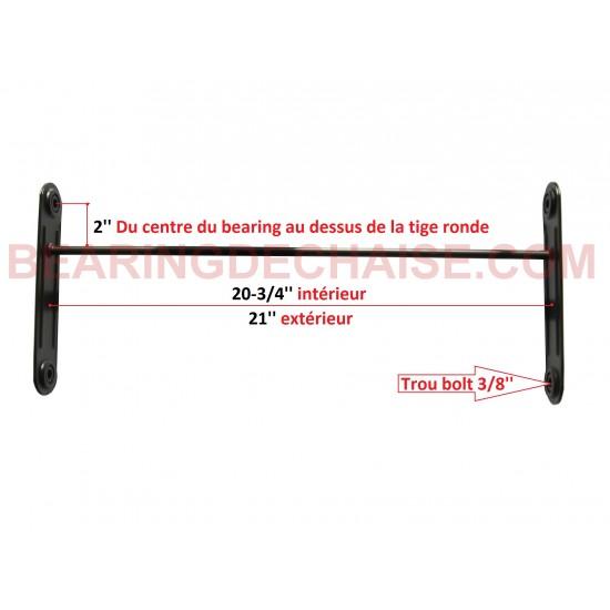 Balancier (20-3/4'' X 2'') TAUPE